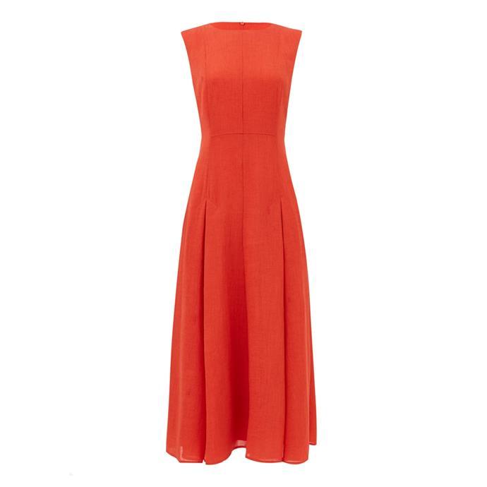 "**Statement dress**<br><br> Dress by Cefinn, $538 at [MATCHESFASHION.COM](https://www.matchesfashion.com/au/products/Cefinn-Melina-voile-midi-dress-1348410|target=""_blank""|rel=""nofollow"")"