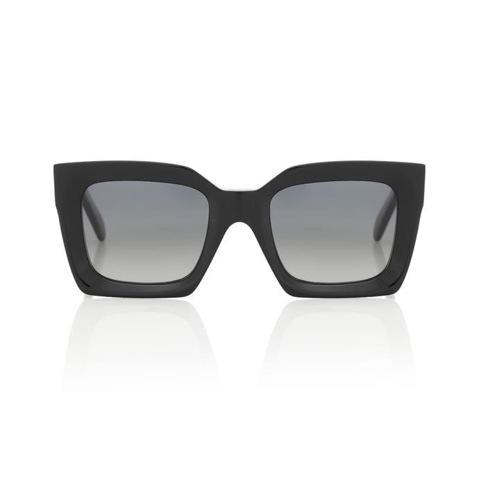 "**Sunglasses**<br><br> Sunglasses by Celine, $535 at [MyTheresa](https://www.mytheresa.com/en-au/celine-eyewear-square-sunglasses-1390766.html|target=""_blank""|rel=""nofollow"")."