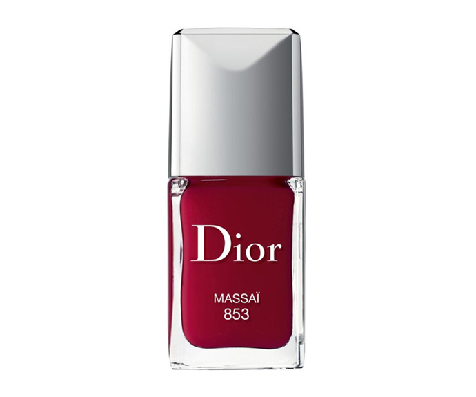 "**Rouge Dior Vernis Nail Lacquer in Massai by Dior, $41 at [Myer](https://www.myer.com.au/p/manucure-transat-nail-polish-and-couture-stickers-duo-125256340-218020690?colour=Massai|target=""_blank""