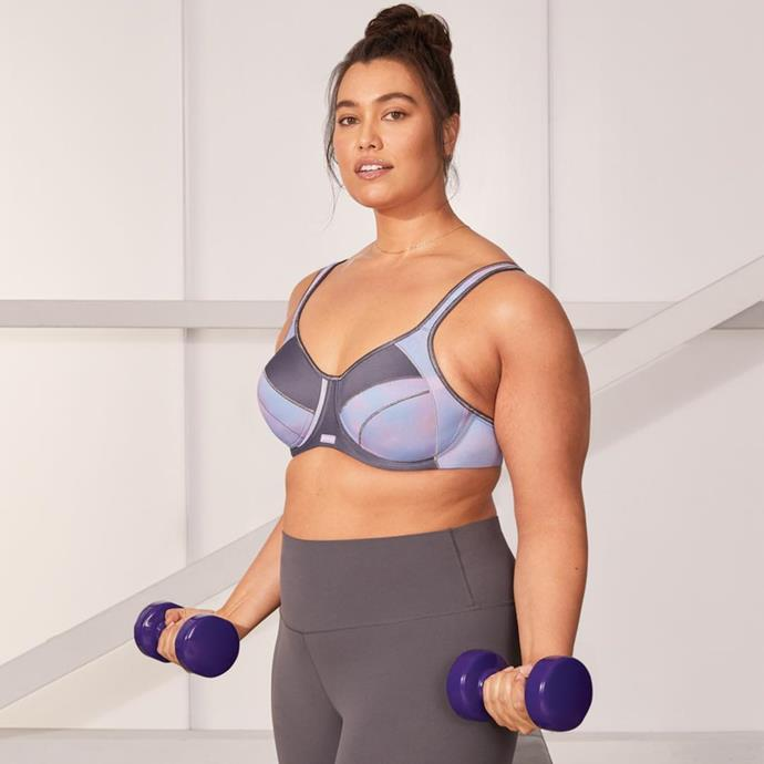 "**Berlei**<br><br>  While it's not technically an activewear brand, when it comes to sports bras that offer serious curve support, Berlei can't be beat. Categorising their bras from low impact (yoga, Pilates) to extreme impact activity (HIIT, boxing), there's something for every body (literally).<br><br>  *Shop [here](https://fave.co/2TXsmhp|target=""_blank""