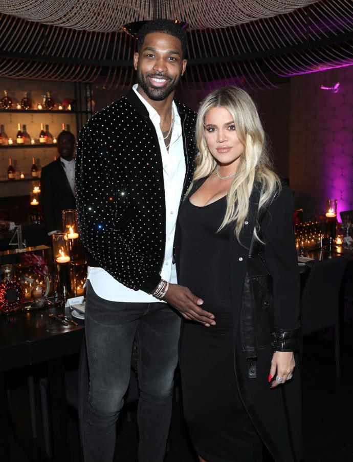 "**Khloé Kardashian and Tristan Thompson**<br><br>  Arguably one of the biggest celebrity scandals in recent years, NBA player Tristan Thompson was caught on film cheating on Khloé Kardashian two days before she gave birth to their daughter, True Thompson, in 2018. And while the two remained together, Kardashian was criticised on social media for staying with the Cleveland Cavaliers star.<br><br>  ""You have no knowledge of what goes on in our household or the enormous rebuilding this takes to even coexist,"" Kardashian wrote on social media in response.<br><br>  Their relationship, however, came to an end in February 2019, when Thompson was once again [caught cheating](https://www.elle.com.au/celebrity/khloe-kardashian-tristan-thompson-jordyn-woods-truth-20720