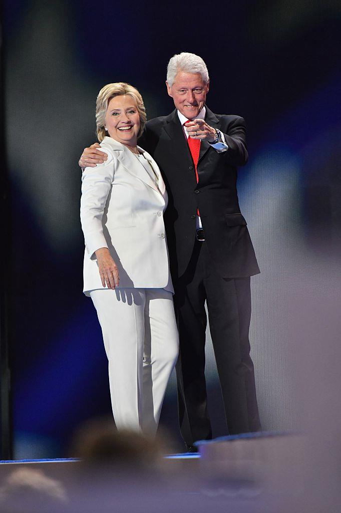 "**Hilary Clinton and Bill Clinton**<br><br>  It was the cheating scandal that launched a thousand (and then some) headlines. In the mid-'90s, former U.S. president Bill Clinton and Hilary Clinton famously endured a public play-out of Bill's infidelity with his then-White House intern, Monica Lewinsky.<br><br>  Bill refuted Lewinsky's claims that they'd had sexual encounters, but later admitted it on trial, [referring](https://en.wikipedia.org/wiki/Clinton%E2%80%93Lewinsky_scandal|target=""_blank""