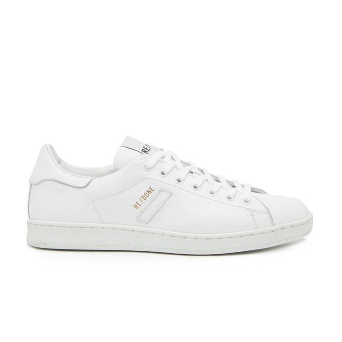 """*'70s leather tennis trainers by Re/Done Originals, $435 at [MATCHESFASHION.COM](https://fave.co/2ZF5l6l target=""""_blank"""" rel=""""nofollow"""").*"""
