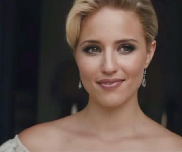 "**Dianna Agron in Sam Smith's video for ""I'm Not The Only One""** <br><br> While most remember Dianna Agron for her role as the mean-girl cheerleader, Quinn, in *Glee*, many forget about her striking performance in Sam Smith's ""I'm Not The Only One"". In case the song title doesn't clearly give it away, Agron plays a heartbroken wife dealing with the infidelity that's tearing her marriage apart. Serious stuff. <br><br> *Watch it [here](https://www.youtube.com/watch?v=nCkpzqqog4k
