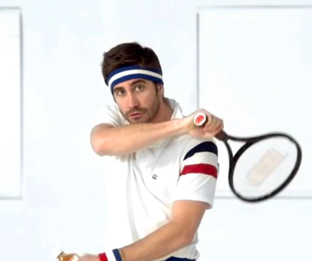 "**Jake Gyllenhaal in Vampire Weekend's video for ""Giving Up The Gun""** <br><br> Gyllenhaal typically remains low-key when he's not on-screen, but music videos seem to be his exception. Starring in Vampire Weekend's ""Giving Up The Gun"",  Gyllenhaal plays a hard-swinging, even harder-boozing tennis pro, that is definitely the polar opposite to his iconic *Donnie Darko* role. <br><br> *Watch it [here](https://www.youtube.com/watch?v=bccKotFwzoY