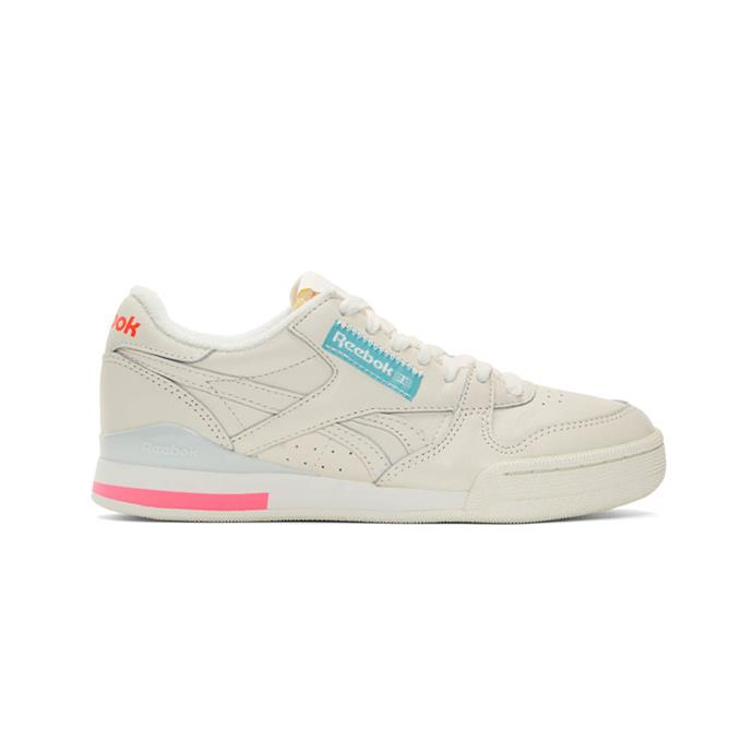 """*Phase 1 Pro sneakers by Reebok, $94 at [SSENSE](https://fave.co/2M3yXT2 target=""""_blank"""" rel=""""nofollow"""").*"""