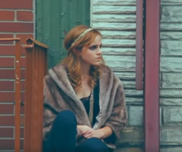 "**Emma Watson in One Night Only's video for ""Say You Don't Want It""** <br><br> Before we witnessed her own musical talents in *Beauty And The Beast*, Emma Watson appeared in One Night Only's ""Say You Don't Want It"" music video back in 2010. A hopeless wanderer in New York City, Watson's character meets lead singer George Craig and the pair spend a whimsical day together. A stark difference to how the pair met in real life, which was on the set of a Burberry photo shoot. <br><br> *Watch it [here](https://www.youtube.com/watch?v=wF1WzzrLmpk