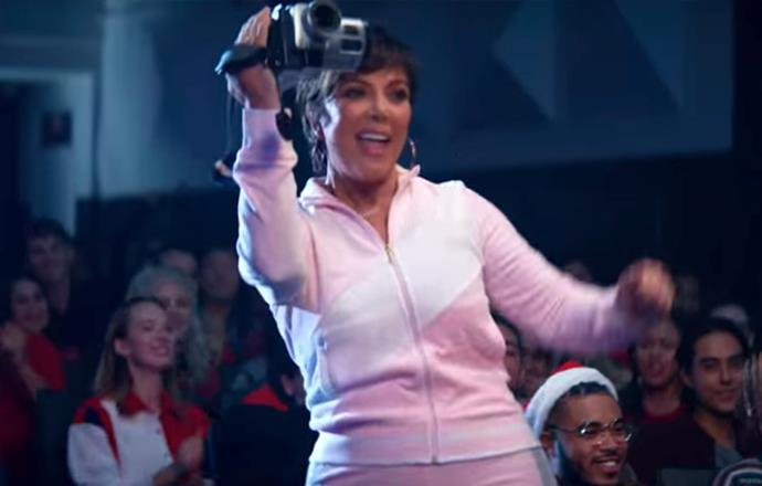 "**Kris Jenner in Ariana Grande's video for ""Thank U Next""** <br><br>  In what may be the best cameo from Ariana Grande's ""Thank U Next"" video, Kris Jenner channels her inner  *Mean Girls* spirit, playing Regina George's 'cool mom', who was originally played by comedian Amy Poehler. An ode to the 2004 cult-favourite, Grande's video also features a star-studded cast including singer Troye Sivan and Jonathan Bennett, a.k.a the original Aaron Samuels. <br><br> *Watch it [here](https://www.youtube.com/watch?v=gl1aHhXnN1k