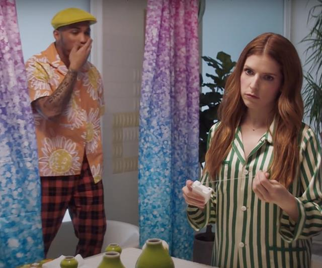 "**Anna Kendrick in Anderson .Paak and Justin Timberlake's video for ""Don't Slack""** <br><br> If you've binge-watched *[Love Life](https://www.elle.com.au/culture/love-life-anna-kendrick-23427