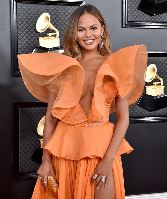 "**Chrissy Teigen** <br><br> In an interview with *[Glamour U.K.](https://www.glamourmagazine.co.uk/article/chrissy-teigen-glamour-magazine-ss20-cover-interview|target=""_blank""