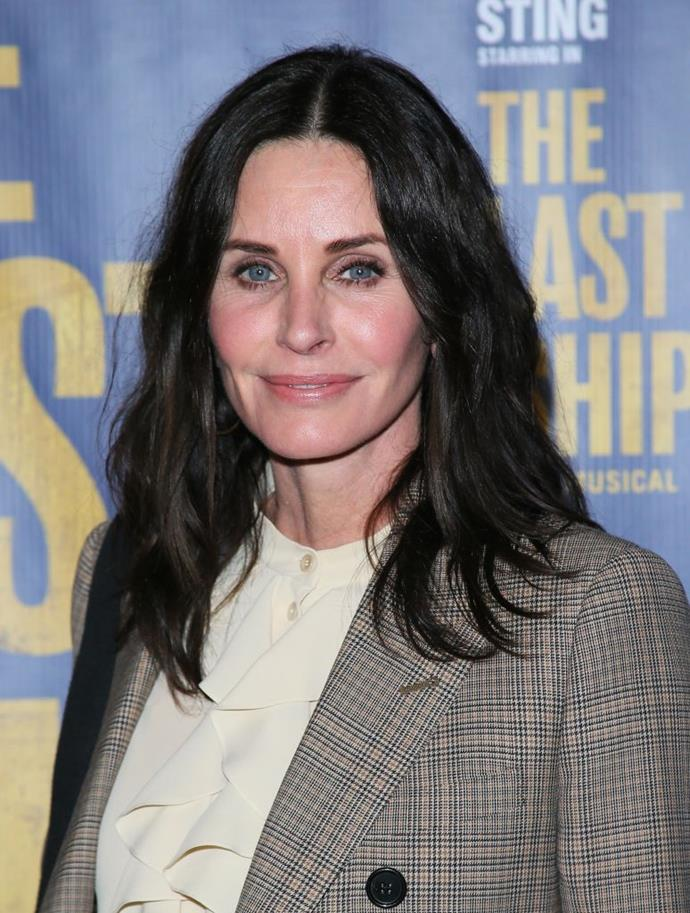 "**Courteney Cox**<br><br>  One of a number of [celebrities who regret getting work done](https://www.elle.com.au/beauty/celebrities-who-regret-plastic-surgery-21144|target=""_blank""), the *Friends* star revealed that her dissatisfaction with fillers occurred gradually over time, after doctors continually told her that ""a little injection here or filler there"" would ""help"".<br><br>  ""The next thing you know, you're layered and layered and layered. You have no idea because it's gradual until you go, 'Oh shit, this doesn't look right.' And it's worse in pictures than in real life,"" she [said](https://www.newbeauty.com/blog/dailybeauty/11013-courteney-cox-beauty/