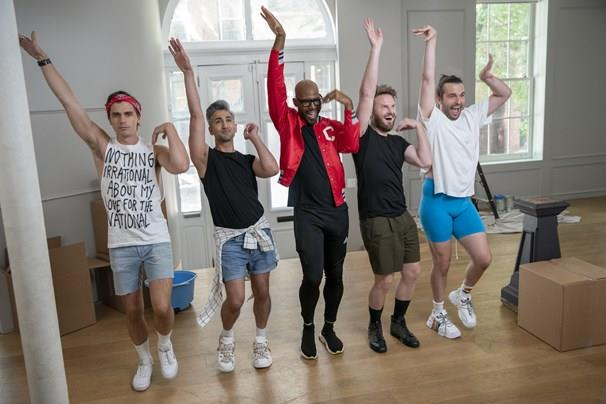 ***Queer Eye:*** **Season 5 (5/6/2020)**<br><br>  The Fab Five head to historic Philadelphia to make over a new cast of everyday heroes, from a hardworking DJ to a struggling dog groomer.