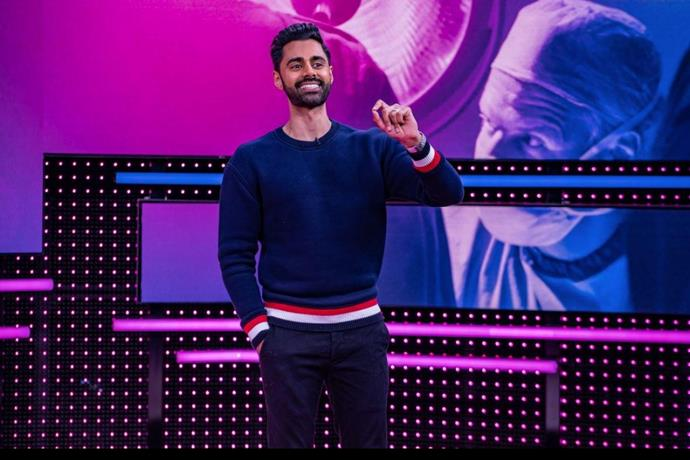 ***Patriot Act with Hasan Minhaj:*** **Volume 6 contd. (weekly from 7/6/2020)**<br><br>  The Peabody and Emmy Award-winning weekly comedy show explores the modern cultural and political landscape with depth and sincerity. Each week, Minhaj brings his unique comedic voice and storytelling skill to investigate the larger trends shaping our fragmented world.