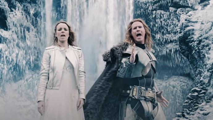 ***Eurovision Song Contest: The Story of Fire Saga*** **(26/6/2020)**<br><br>  Will Ferrell and Rachel McAdams star as two small-town singers seizing a chance to fulfil their dream of competing in the world's biggest song contest.