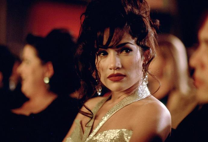 ***Selena*** **(1/6/2020)**<br><br>  In this biographical drama, Selena Quintanilla (Jennifer Lopez) is born into a musical Mexican-American family in Texas. Her father, Abraham (Edward James Olmos), realizes that his young daughter is talented and begins performing with her at small venues. She finds success and falls for her guitarist, Chris Perez (Jon Seda), who draws the ire of her father. Seeking mainstream stardom, Selena begins recording an English-language album which, tragically, she would never complete.