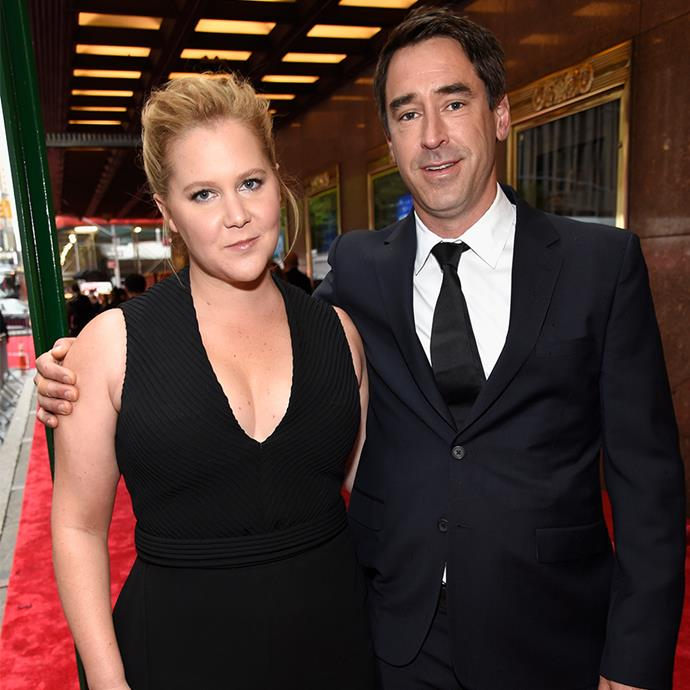 **Amy Schumer and Chris Fischer** <br><br> While she often jokes at her own dating life's expense, Amy Schumer met her now-husband Chris Fischer in the sweetest way. Schumer's assistant, Molly, is actually Fischer's sister and was the one responsible for setting the two up,  <br><br> As Fischer is a professional chef, who has served everyone from the Obamas to Jake Gyllenhaal, Molly suggested that he head to Schumer's vacation home in Martha's Vineyard to cook for her, and the rest was history. The pair were married by 2018 and welcomed their first son, Gene, in 2019.