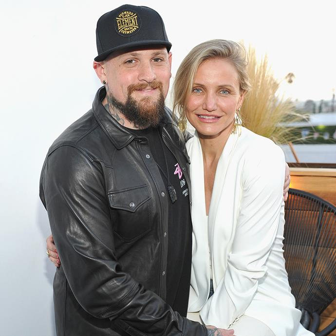 """**Benji Madden and Cameron Diaz** <br><br> It looks as if sister-in-laws may be the perfect matchmakers, after all. Nicole Richie, who is married to Benji Madden's twin brother, Joel, apparently set the pair up.  <br><br> Admitted to her involvement  on *Watch What Happens Live*, Richie admitted: """"I approve of anything that's going to make Benji happy,"""" she said. """"I'm going to take responsibility for everything!"""" <br><br> The pair were married in 2016 and welcome their first daughter, Raddix, in January 2020."""