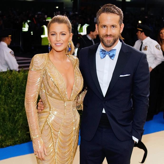 """**Blake Lively and Ryan Reynolds** <br><br> As if Lively and Reynolds' relationship wasn't already taken straight out of a Hollywood rom-com, the pair first fell for each other, while on dates with other people. <br><br> Originally meeting on the set of *Green Lantern*, the pair were so meant-to-be that their awkward double date was responsible for the pair ultimately falling in love. <br><br> """"That was like the most awkward date for the respective parties because we were just like fireworks coming across [the table],"""" Reynolds shared with *[Entertainment Weekly](https://soundcloud.com/ewradio/hear-about-ryan-reynolds-blake-livelys-first-date