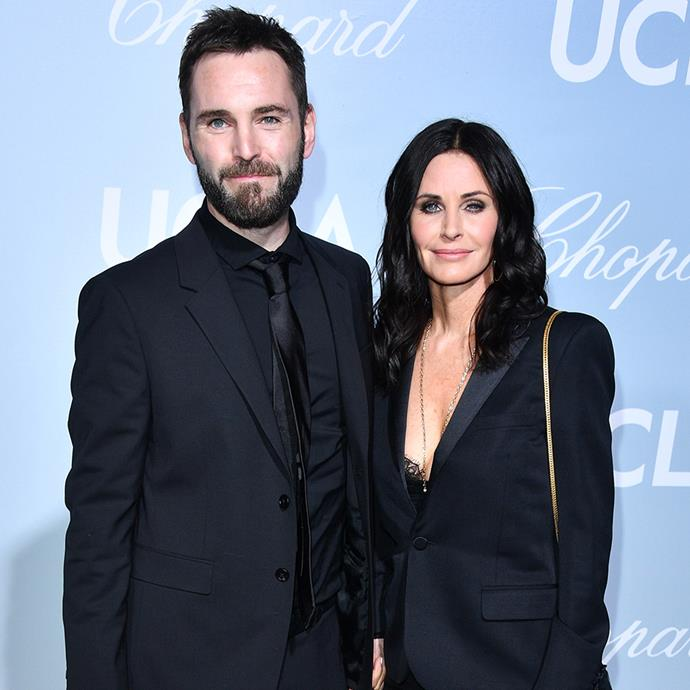 """**Courteney Cox and Johnny McDaid** <br><br> While Courteney Cox is sure to have a plethora of famous friends, it's still surprising to hear that musician, Ed Sheeran, was responsible for setting up the *Friends* star with her musician partner, Johnny McDaid. <br><br> In an interview with *Yahoo*, Sheeran revealed: """"My housemate [Snow Patrol's Johnny McDaid] who I've lived with for a year, I introduced him to Courteney Cox. They started dating and [are] crazy about each other."""" <br><br> The lovebirds have been engaged since 2014 and, despite a brief split, are planning to wed. It's even rumoured that Jennifer Aniston will play maid of honour at her wedding."""