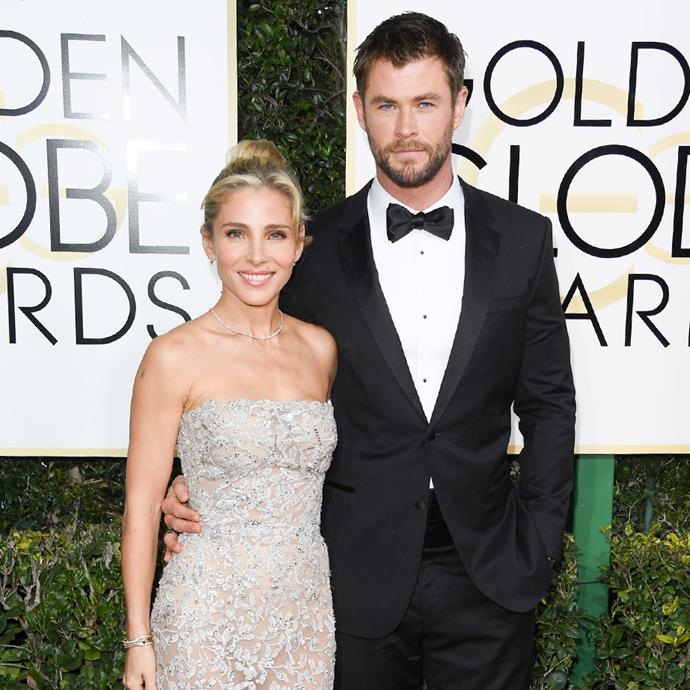 """**Elsa Pataky and Chris Hemsworth** <br><br> Meeting through their shared dialect coach, it was love at first sight for Australian-born Hemsworth and Madrid-native Pataky.  <br><br> """"It was like a blind date,"""" Pataky explained during an appearance on *[El Hormiguero](https://www.youtube.com/watch?v=XkH-LrHCA1g