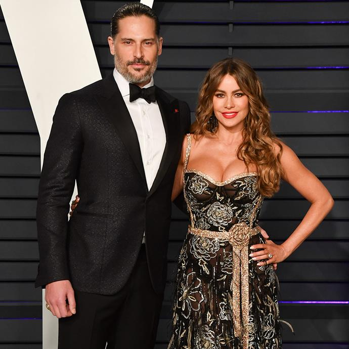 **Joe Manganiello and Sofia Vergara** <br><br> We can thank *Modern Family* for the most beautiful couple imaginable. In fact, it was Vergara's co-star Jesse Tyler Ferguson who introduced the couple at a party, and later gave Manganiello Vergara's phone number to help move things along.  <br><br> The genetically-blessed couple have been in wedded bliss since 2015.