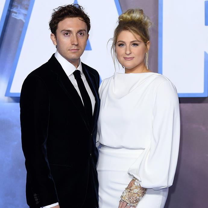 """**Meghan Trainor and Daryl Sabara** <br><br> We can thank Trainor's friend, and actress, Chloë Grace Moretz, for helping the singer find love with *Spy Kids* alum Daryl Sabara.  <br><br> Chatting about their romance on Chelsea Handler's Netflix series *Chelsea*, saying: """"[Chloë] is a friend of mine, and day one of meeting her, I was like, 'You know anybody that I could date?'"""" she said. """"And she's like, 'I know the nicest guy in the world, Daryl, and you should meet him!'"""" <br><br> These lovebirds were officially wed in 2019 and the rest is history."""