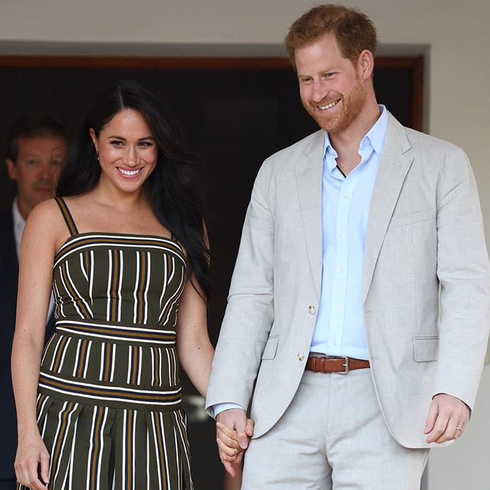 """**Meghan Markle and Prince Harry** <br><br> While the verdict is still out on which friend introduced the Duke of Sussex to his future Duchess, it is rumoured that Harry's childhood friend, Violet von Westenholz, was responsible for setting these two up. <br><br> """"It was definitely a set-up. It was a blind date,"""" Markle has said of their first date. """"I didn't know much about him and so the only thing I had asked her when she said she wanted to set us up was... I had one question... I said 'Is he nice?'"""" <br><br> The couple were married in a huge royal ceremony in 2018 and Markle gave birth to their son, Archie, in 2019."""