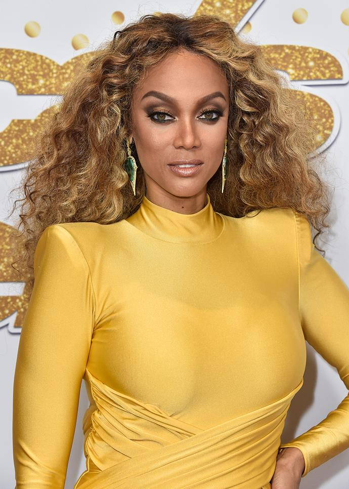 ***Tyra Banks***<br><br> She may have dominated runways and campaigns in the '90s and '00s, but nowadays Tyra Banks makes her cheques as a television producer and host.