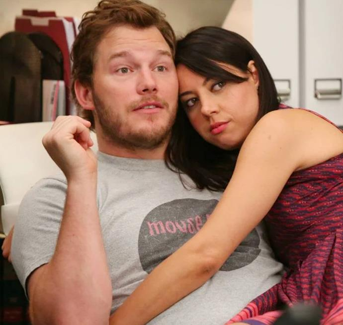 **Andy Dwyer and April Ludgate in *Parks And Recreation*** <br><br> They say opposites attract, right? Andy, who saw life as a glass-half-full, and April, the intern with a love for everything horror, couldn't have been more opposite at the start of the series. Over time, these two defied romantic stereotypes and found happiness in each other's differences. Besides, could they be any cuter?