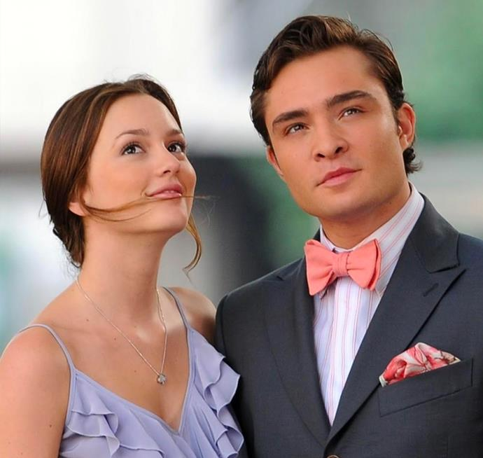 **Blair Waldorf and Chuck Bass in *Gossip Girl*** <br><br> This *Gossip Girl* pairing may be controversial to some, it's no lie that we were all rooting for their relationship by the end of the series. Chuck and Blair, despite disappointing each other on a regular basis, were ultimately perfect for each other.