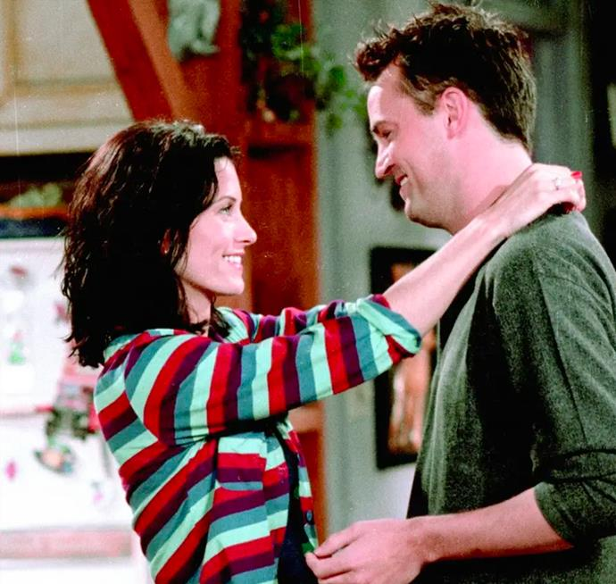 **Monica Gellar and Chandler Bing in *Friends*** <br><br> While the thought of these two as a couple was initially strange, to say the least, it's a no-brainer that Monica and Chandler were made for each other. From their hilarious antics to their touching moments, we could watch these lovebirds on our screens for years to come.