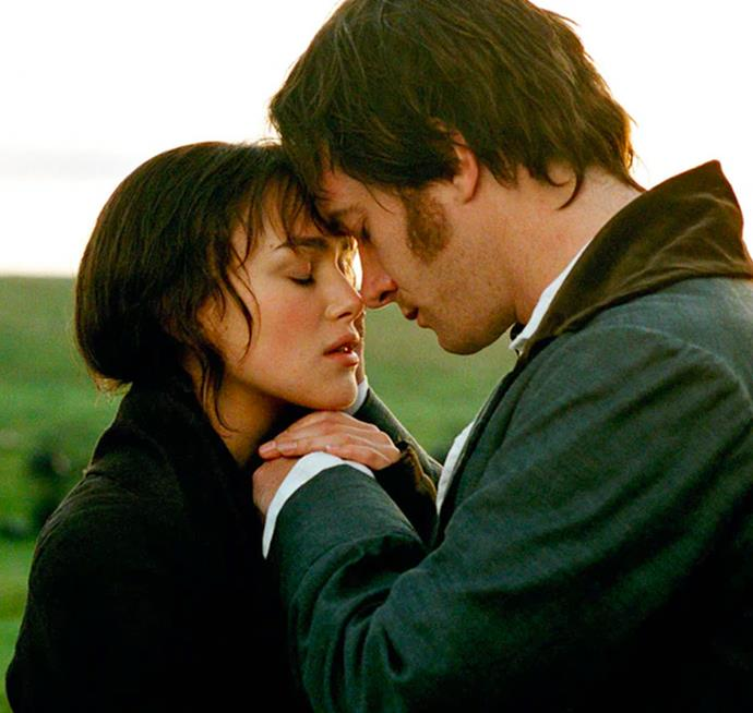 **Elizabeth Bennett and Mr. Darcy in *Pride And Prejudice*** <br><br> While these two certainly have their fair share of awkward moments, Elizabeth and Mr.Darcy are a no-brainer. From their squabbles to their tender moments, these two are the most realistic couple to come from the 19th Century.