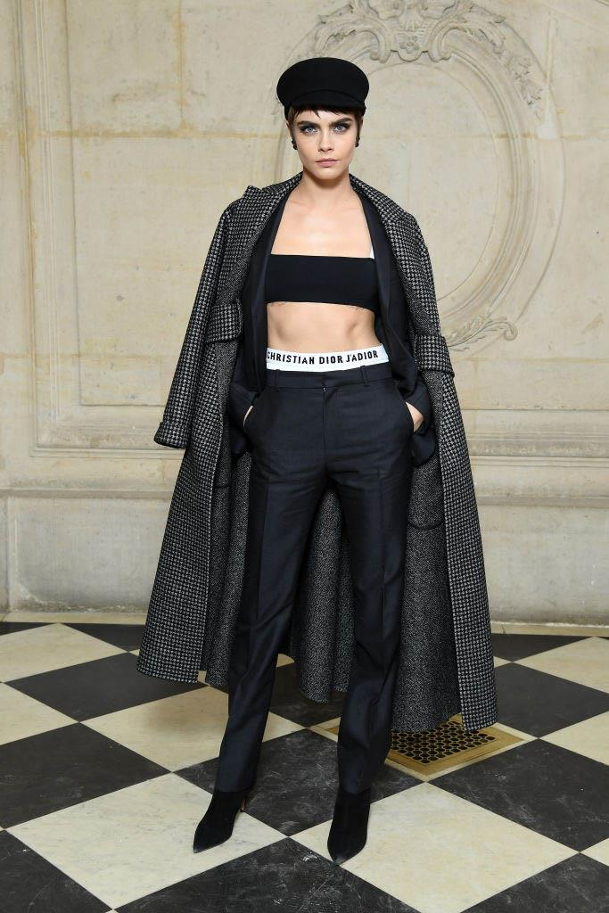 """**Cara Delevingne** <br><br> British supermodel Delevingne is sexually fluid, meaning she prefers not to label her sexuality and is open to dating people of all genders. In a 2015 interview with *People*, she said: """"Every day, I change. Every day, I'm discovering new things about myself."""" <br><br> In 2016, she told British *[Vogue](https://www.vogue.co.uk/article/cara-delevingne-september-vogue-quotes