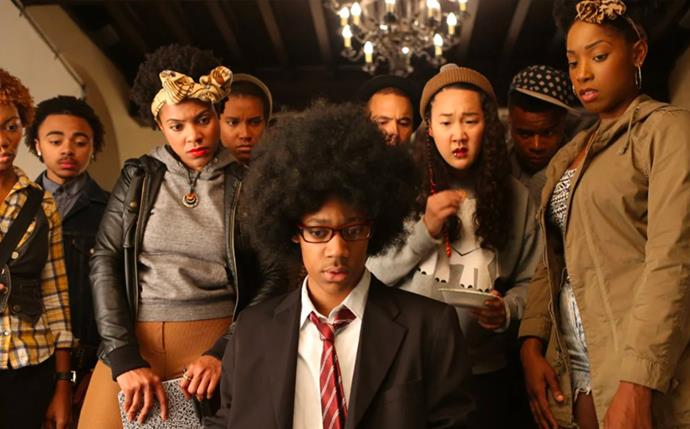 "***Dear White People*** <br><br> The cult-favourite Netflix original, follows students of colour who are navigating daily antics and the uncomfortable politics of life at an Ivy League college, that isn't as racially 'woke' as it claims to be. <br><br> Available to stream on *[Netflix](https://www.netflix.com/title/80095698|target=""_blank""
