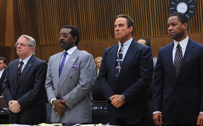 "***The People vs. O.J. Simpson*** <br><br> One of the most popular murder trials of the '90s, the case of O.J. Simpson was not only a lesson in true crime, but a lesson in racial discrimination in the U.S. Despite his guilty charge, the differing opinions between persecuting a man for a crime versus falsely persecuting an African American for a crime he may not have committed, remains a heated debate. <br><br> Available to stream on *[Netflix](https://www.netflix.com/title/80083977|target=""_blank""