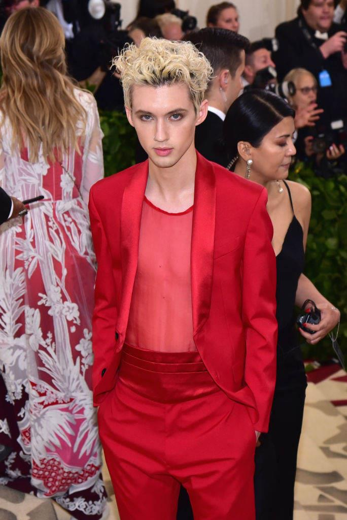 """**Troye Sivan** <br><br> It's easy to forget that Sivan was a YouTube personality before becoming a successful singer, and came out as gay in a 2013 [video](https://www.youtube.com/watch?v=JoL-MnXvK80