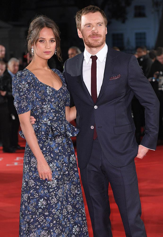 **Alicia Vikander and Michael Fassbender** <br><br> Vikander and Fassbender were originally linked in November 2014, but were rarely ever seen together. Meeting as co-stars in the romantic drama *The Light Between Oceans*, the couple look to have married in a private ceremony in Ibiza in October 2017. While updates on the pair are far and few, their embrace after Vikander won 'Best Supporting Actress' at the Academy Awards in 2016 certainly confirmed their love.