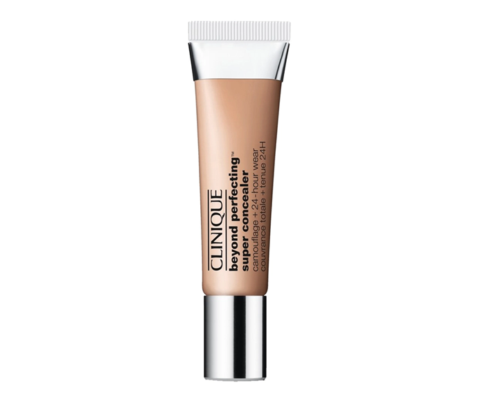 """**Beyond Perfecting Super Concealer Camouflage + 24-Hour Wear by Clinique, $38 at [Sephora](https://www.sephora.com.au/products/clinique-beyond-perfecting-super-concealer-camouflage-plus-24-hour-wear
