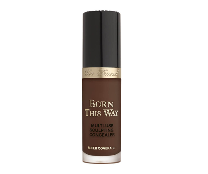 """**Born This Way Super Coverage Concealer by Too Faced, $46 at [MECCA](https://www.mecca.com.au/too-faced/born-this-way-super-coverage-concealer/V-033621.html