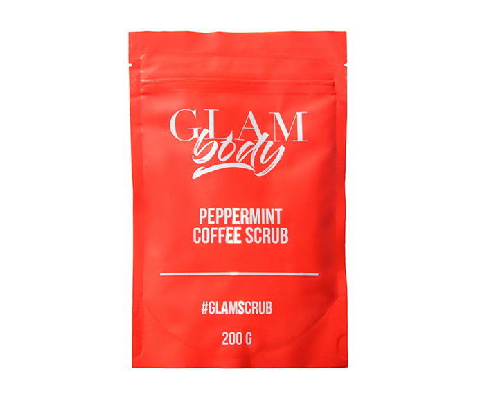 """**Muscle Relaxing Peppermint Body Scrub, $25.81 by [Glam Body](https://iamglambody.com/products/peppermint-coffee-scrub