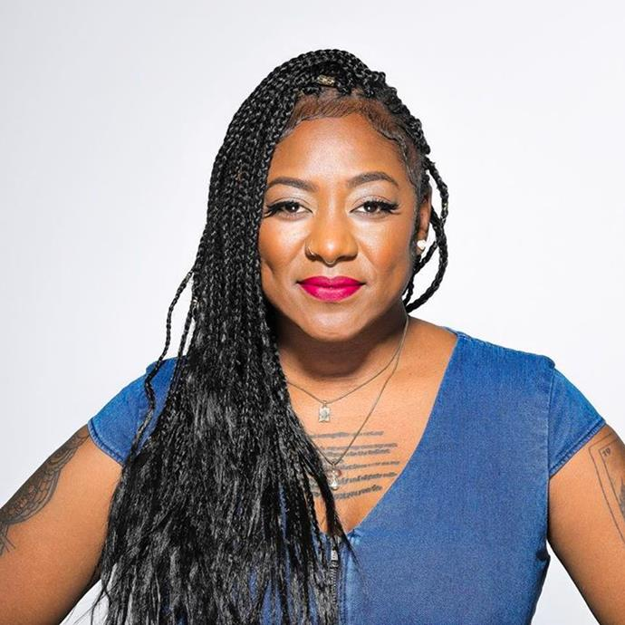 """**Alicia Garza** <br> [@chasinggarza](https://www.instagram.com/chasinggarza/