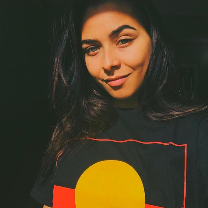 """**Brooke Blurton**, *Indigenous Australian activist*. <br> [@brooke.blurton](https://www.instagram.com/brooke.blurton/
