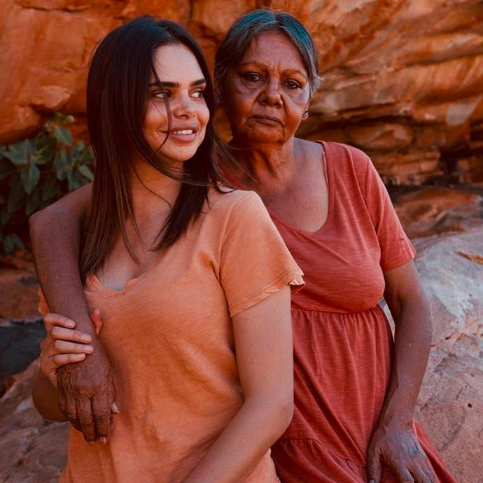 "**Samantha Harris**, *Indigenous Australian activist*. <br> [@sam_harris](https://www.instagram.com/sam_harris/|target=""_blank""