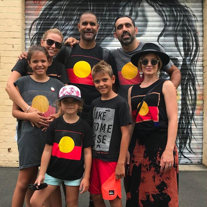 "**Adam Goodes**, *Indigenous Australian activist*. <br> [@adamroy37](https://www.instagram.com/adamroy37/|target=""_blank""