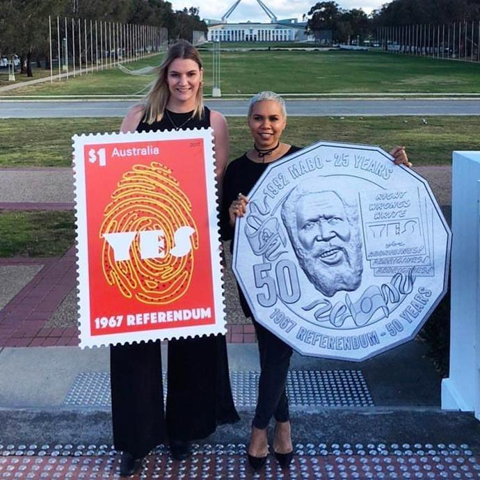 """**Rachael Sarra**, *Indigenous Australian activist*. <br> [@sar.ra__](https://www.instagram.com/sar.ra__/