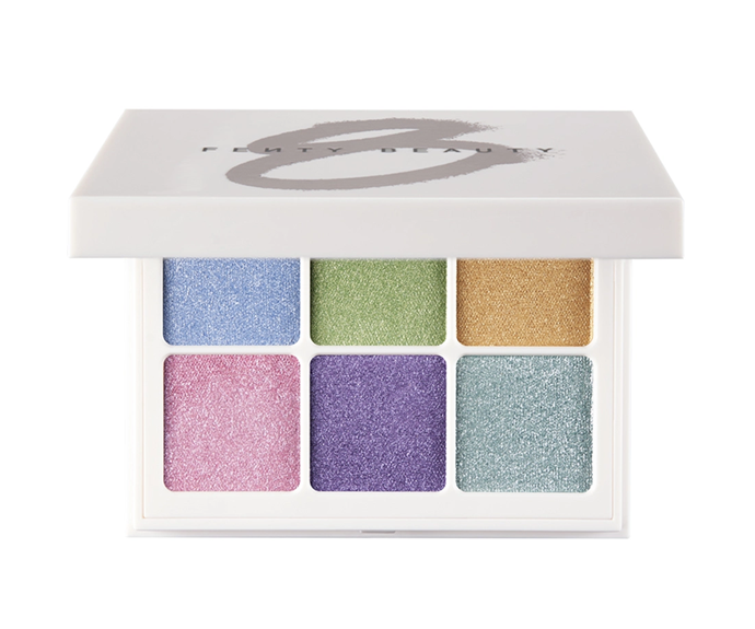 "**Fenty Beauty Snap Shadows Eyeshadow Palette in Pastel Frost, $39 at [Sephora](https://www.sephora.com.au/products/fenty-beauty-snap-shadows-eyeshadow-palette/v/pastel-frost|target=""_blank""