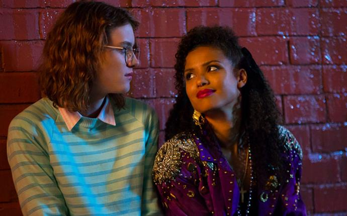 **Yorkie and Kelly— *Black Mirror*** <br><br> *Black Mirror* may be anthology series, but this couples brief on-screen romance in episode 'San Junipero' was enough to win over our hearts. While they may not have seemed like a dynamic couple—especially when Yorkie keeps disappearing—these two ended up being two opposites that were made for each other.