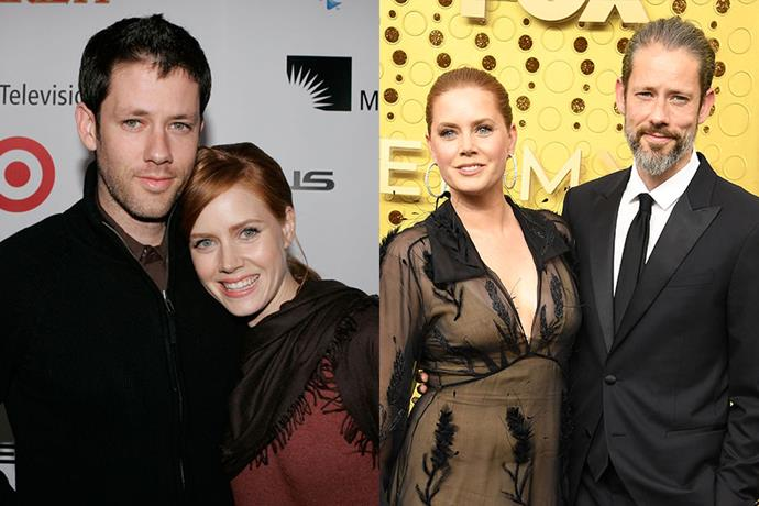 **Amy Adams and Darren Le Gallo** <br> **Together For:** 19 years <br><br> Meeting before she found fame in Hollywood, Amy Adams and Darren Le Gallo met at an acting class in 2001. Le Gallo, an artist and rally car driver, has appeared in television shows like *Six Feet Under* and *Date Night*. The couple were together for 14 years before they tied the knot, marrying in 2015. They also welcome their daughter Aviana Olea in 2011.