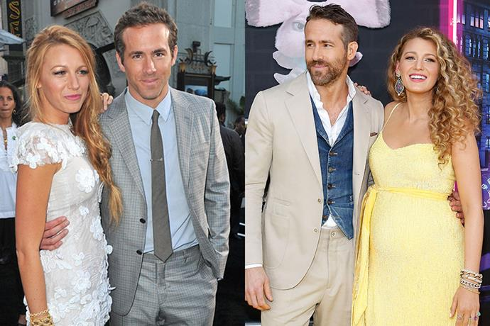 "**Blake Lively and Ryan Reynolds** <br> **Together For:** 10 years <br><br> Meeting on the set of *Green Lantern* in 2010, the pair realised that their friendship may be more while on a double date with other people. The couple began to date and were married in 2012. Lively and Reynolds have also welcome three daughters together, Inez, James and their most recent baby whose name is yet to be released by the couple. Even with their [merciless trolling](https://www.elle.com.au/celebrity/blake-lively-ryan-reynolds-trolling-23419|target=""_blank"") of one another, these two are truly couple goals."