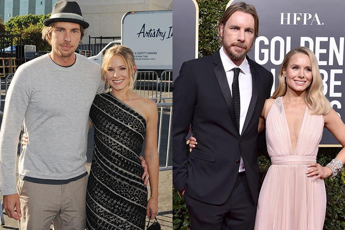**Kristen Bell and Dax Shepard** <br> **Together For:** 13 years <br><br> Starting their relationship in 2007, Bell and Shepard dated for 3 years before becoming engaged in 2010. Despite this, the pair refused to get married until same-sex marriage laws became legal in California. After the legislation passed in 2013, they tied the knot in the same year and have since welcomed two daughters together, Delta and Lincoln.